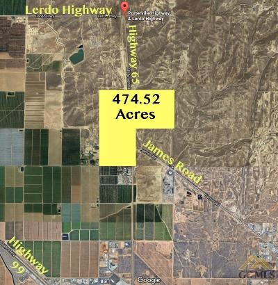 Bakersfield Residential Lots & Land For Sale: 18451 Ca-65