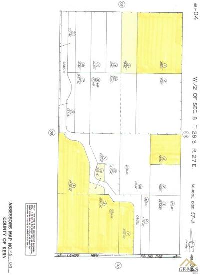 Bakersfield Residential Lots & Land For Sale: Lerdo Highway