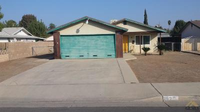Shafter Single Family Home For Sale: 262 Olson Avenue