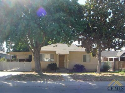 Shafter Single Family Home For Sale: 261 Faber Street
