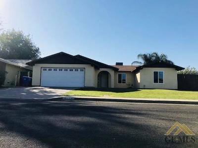 Delano Single Family Home For Sale: 1844 Chaparral Circle