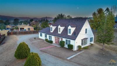 Tehachapi Single Family Home For Sale: 22210 Buena Vista Street