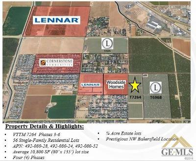 Bakersfield Residential Lots & Land For Sale: Etchart Road