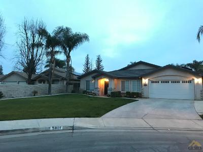 Bakersfield Single Family Home For Sale: 5801 Verano Court