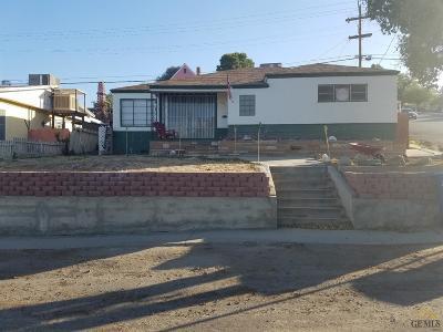 Taft Single Family Home For Sale: 621 E Street