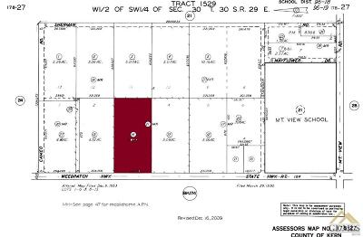 Bakersfield Residential Lots & Land For Sale: 7575 Weedpatch Highway