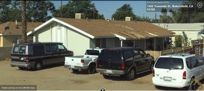 Bakersfield Multi Family Home For Sale: 1401 Yosemite Drive