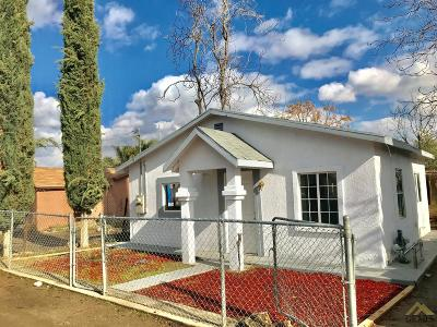Shafter Single Family Home For Sale: 18490 Smith Lane