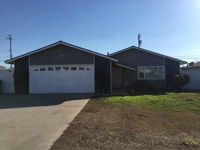 Wasco Single Family Home For Sale: 1025 Lily Street
