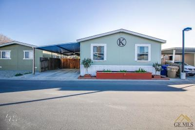 Bakersfield Manufactured Home For Sale: 14035 Rosedale Highway #130