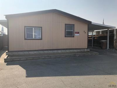 Bakersfield Manufactured Home For Sale: 3535 Stine Road #20