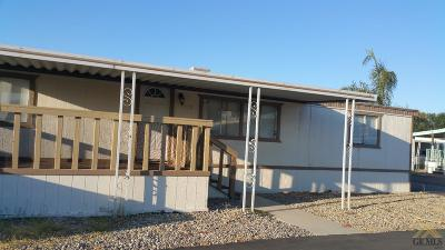 Bakersfield Manufactured Home For Sale: 6351 Akers Road #113