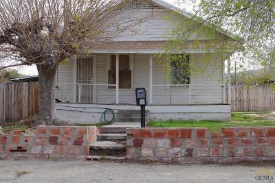 Taft Single Family Home For Sale: 711 Buena Vista Street