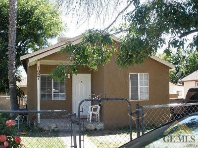Bakersfield CA Multi Family Home For Sale: $149,000