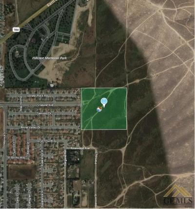 Bakersfield Residential Lots & Land For Sale: Apn 388-080-15