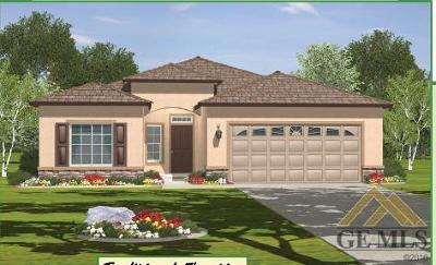 Bakersfield CA Single Family Home For Sale: $280,650