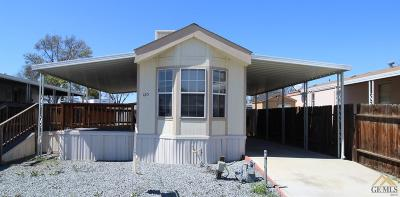 Bakersfield Manufactured Home For Sale: 1301 Taft Hwy #120