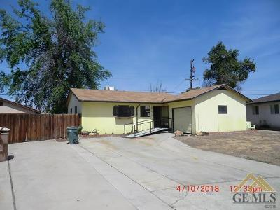 Bakersfield Single Family Home For Sale: 1612 Sidney Drive