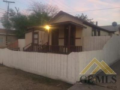 Taft Single Family Home For Sale: 705 Crystal Street