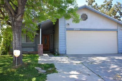 Single Family Home For Sale: 2700 La Costa St