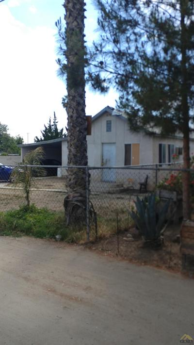 Shafter Single Family Home For Sale: 18491 Bayless Avenue