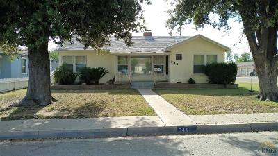 Arvin Single Family Home For Sale: 341 Plumtree Drive
