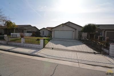 Wasco Single Family Home Active-Contingent: 2541 Camellia Street