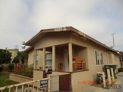 Bakersfield Multi Family Home For Sale: 4024 Niles Street