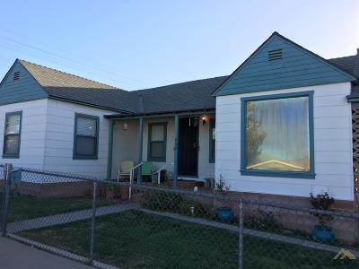 Taft Single Family Home For Sale: 700 E Street