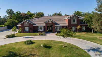 Bakersfield CA Single Family Home For Sale: $729,000