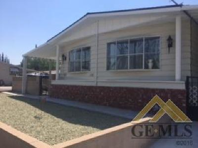 Bakersfield Manufactured Home For Sale: 8801 Eastwind Circle