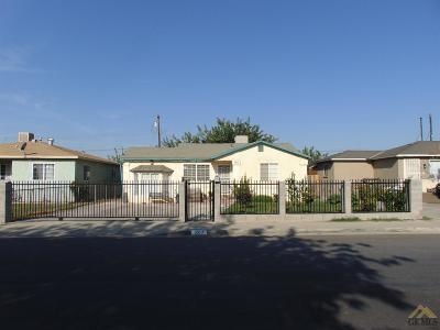 Bakersfield CA Single Family Home For Sale: $170,000