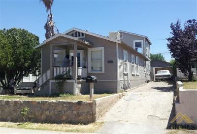 Taft Single Family Home For Sale: 503 D Street