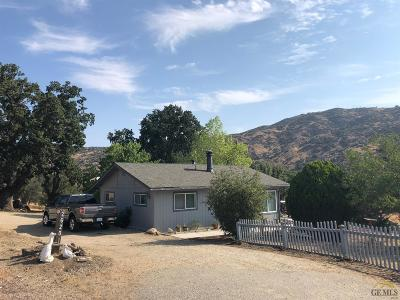 Tehachapi Single Family Home For Sale: 26201 Oakflat Drive