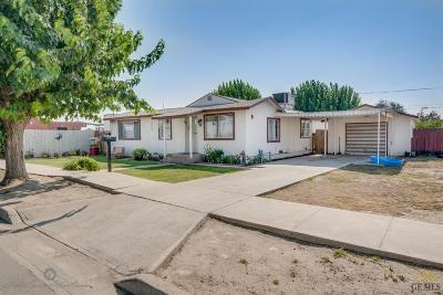 Wasco Single Family Home For Sale: 1051 G Street