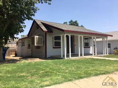 Taft Single Family Home For Sale: 424 E Street
