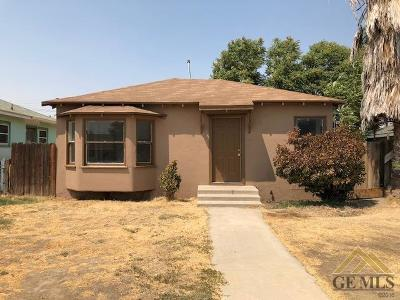 Bakersfield Single Family Home For Sale: 618 Wilson Avenue