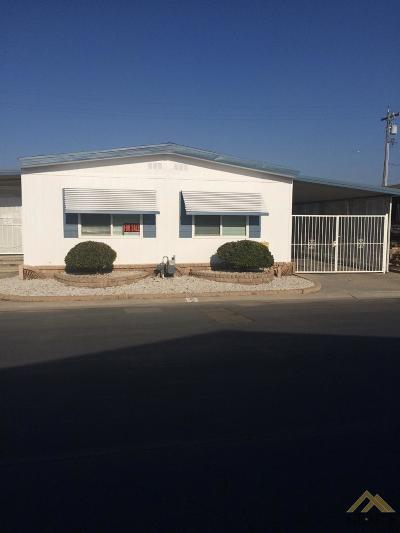 Bakersfield Mobile Home For Sale: 6000 E Brundage Lane #20