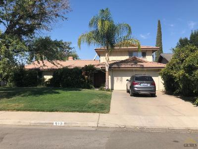 Wasco Single Family Home Active-Contingent: 917 Palm Avenue