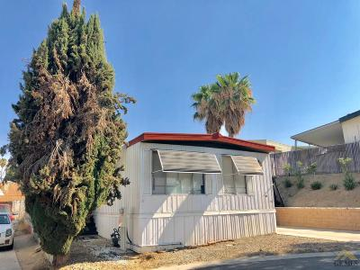 Bakersfield Mobile Home For Sale: 8300 Kern Canyon Road #28