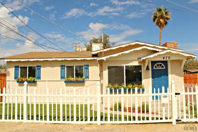 Taft Single Family Home For Sale: 470 Cedar Street