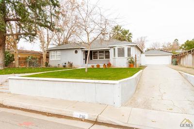 Single Family Home For Sale: 236 Columbus Street