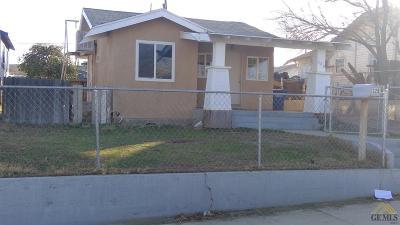 Taft Single Family Home For Sale: 329 D Street