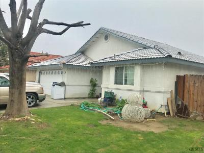 Shafter Single Family Home For Sale: 192 West Drive