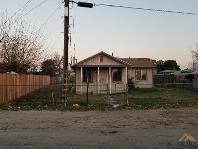 Earlimart Single Family Home For Sale: 996 State