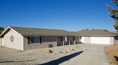 Tehachapi Single Family Home For Sale: 21610 Woodford Road