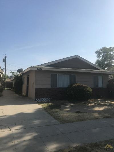 Bakersfield Multi Family Home For Sale: 1727 Blanche Street