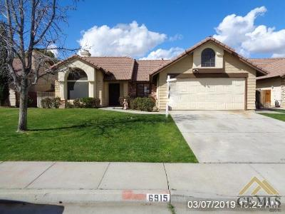 Single Family Home For Sale: 6915 Vanilla Court