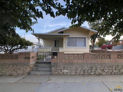 Taft Single Family Home For Sale: 229 B Street