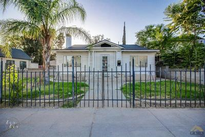 Bakersfield Single Family Home For Sale: 1618 Baker Street